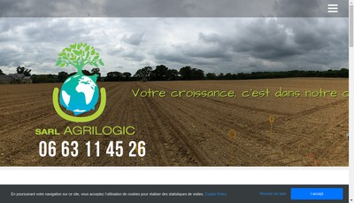 Site internet de Agrilogic