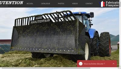 Site internet de Agri Manutention