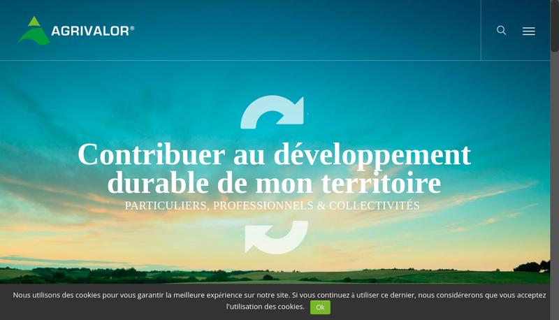 Capture d'écran du site de ATS