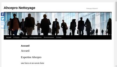 Site internet de Ah! Cepro Nettoyage