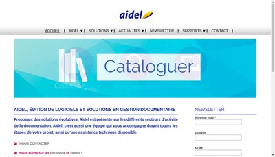 Site internet de Aidel