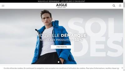 Site internet de Aigle International