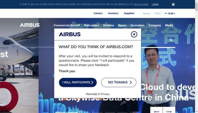 Site internet de Airbus Helicopters