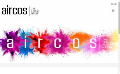 Site internet de Aircos
