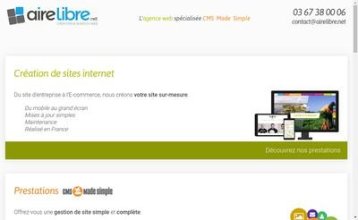 Site internet de Aire Libre