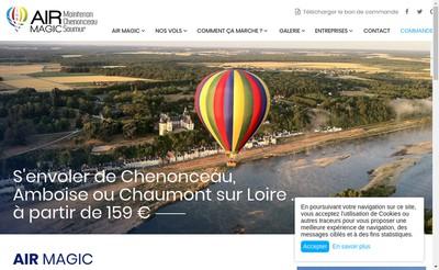 Site internet de Air Magic