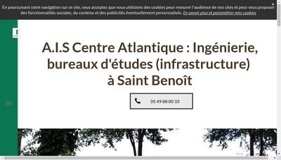 Site internet de Ais Centre Atlantique