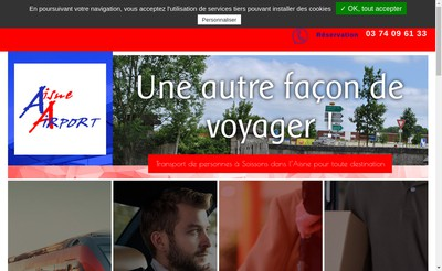 Site internet de Aisne Airport