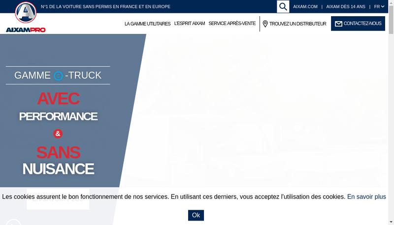 Capture d'écran du site de Atlantique Sans Permis