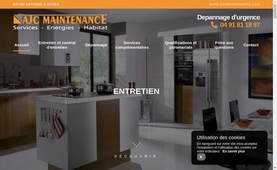 Site internet de Ajc Maintenance