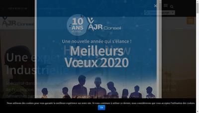 Site internet de Ajr Conseil
