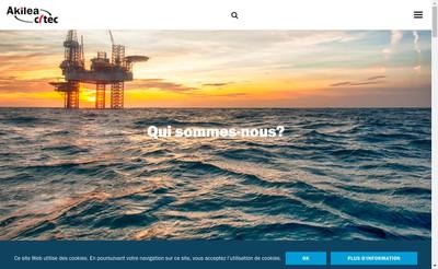 Site internet de Akilea Engineering