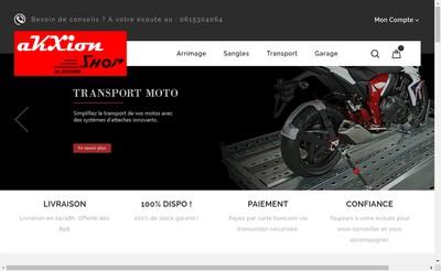 Site internet de Akxion