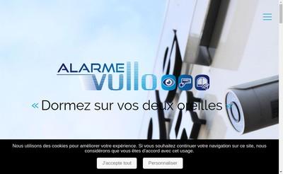Site internet de Alarme Vullo