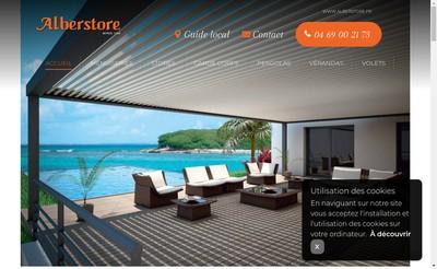 Site internet de Alberstore