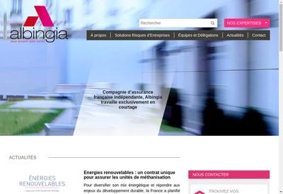 Site internet de Albingia