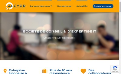Site internet de Alcyor