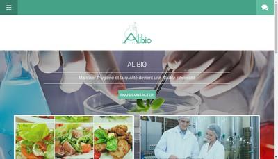 Site internet de Alibio