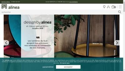 Site internet de Alinea