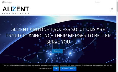 Site internet de Alizent France