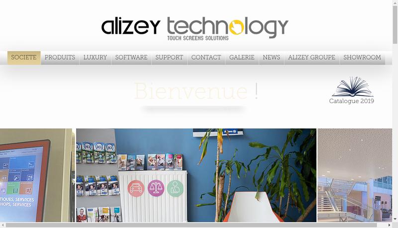 Capture d'écran du site de Top Tactile