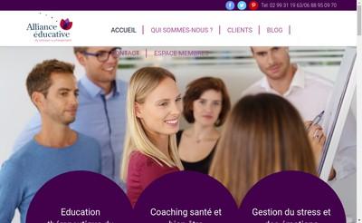 Site internet de Alliance Educative