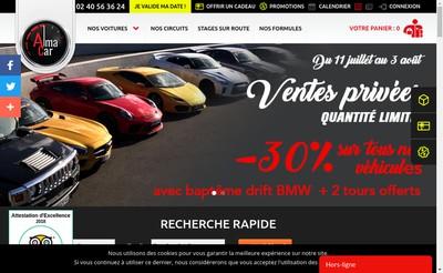 Site internet de Alma Car