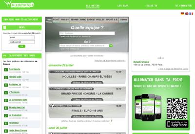 Capture d'écran du site de Almeo Partners