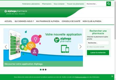 Site internet de Alphega