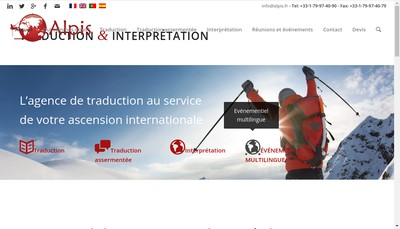 Site internet de Alpis