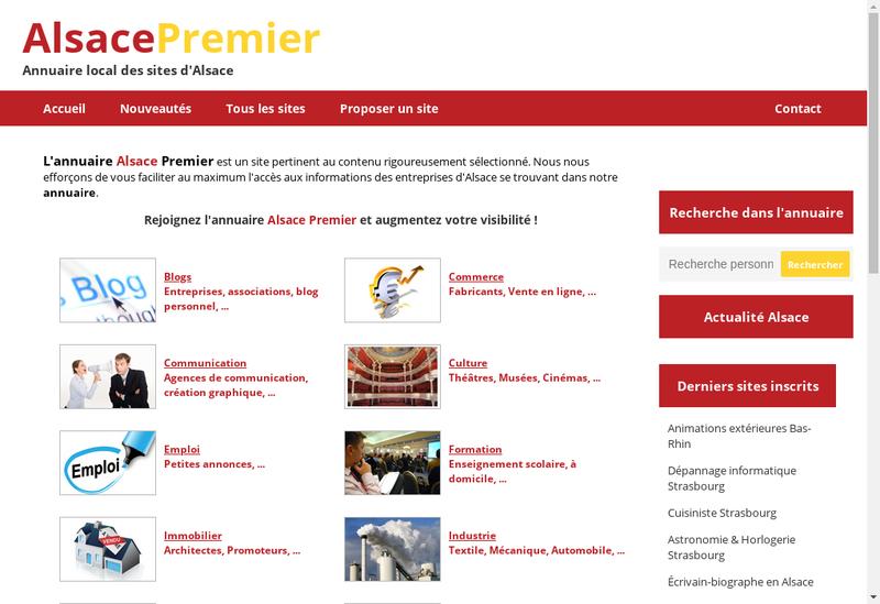 Capture d'écran du site de Premiere Place
