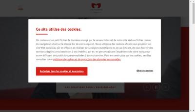 Site internet de L'Alsacienne de Restaurant