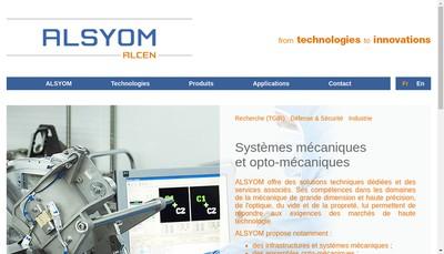 Site internet de Alsyom