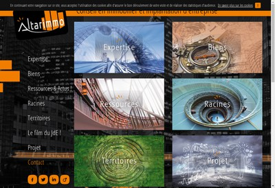 Site internet de Altarimmo