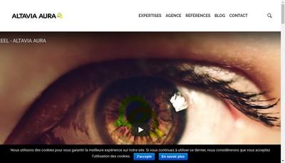 Site internet de Altavia Aura