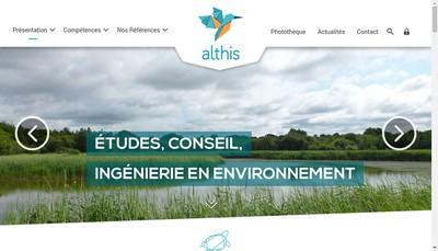 Site internet de Althis