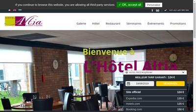 Site internet de Altia Hotel