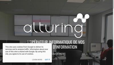 Site internet de Alturing