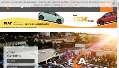 Site internet de Alvergnas Automobiles