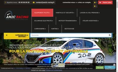 Site internet de Am2C Racing