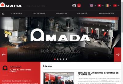 Site internet de Amada SA
