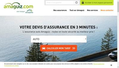 Site internet de Amaguiz