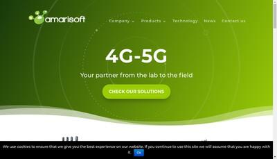 Site internet de Amarisoft