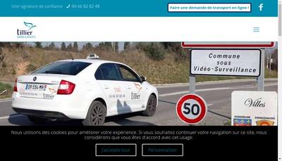 Site internet de Ambulance Assistance Tillier