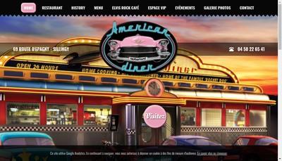 Site internet de American Diner