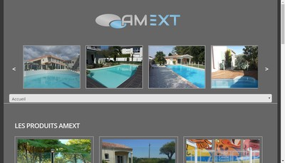Site internet de Amext