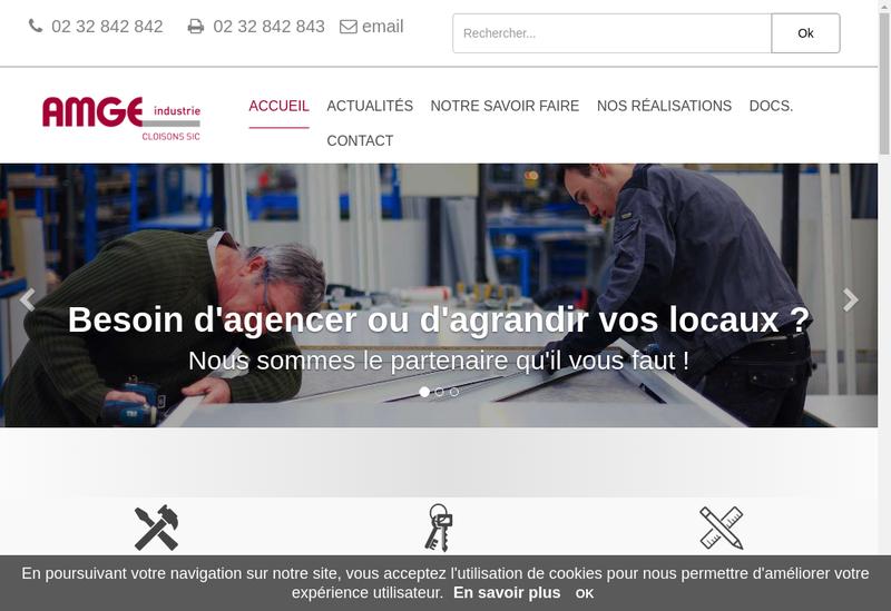 Capture d'écran du site de SIC
