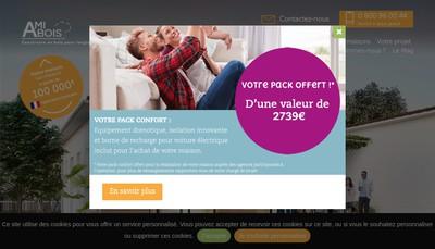 Site internet de Ami Bois