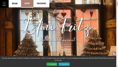 Site internet de L'Ami Fritz d'Ottrott