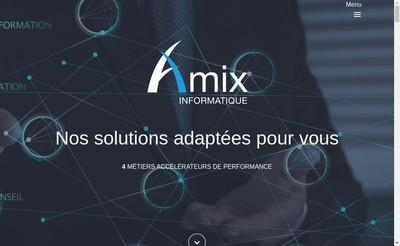 Site internet de SARL Amix Informatique